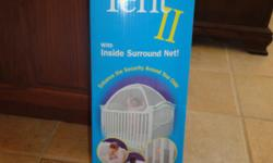 Crib Tent keeps your child from climbing out or falling out of their crib. Call --