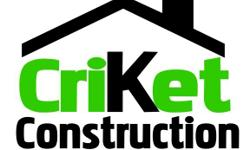 Call us for any of your home construction and remodeling needs. Experienced,reliable, and fair priced. Call today for your free estimate.