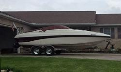 94 225 ccr crownline. clean title ready for water. sitting on PRESTIGE trailor.