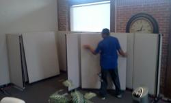 Cubicles By Design offers the following services. Installation, Re-condiguration. Inner Office Moves. We also deliver and install cubicles. Give us a call, Warren @ 832-527-0347 cubiclesbydesigntx.com