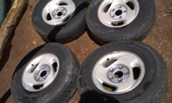 16inch 5lug F150 truck tires and rims