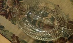 ***PLEASE EMAIL ME AT LITTLEHAWK7@HOTMAIL.COM***   *CRYSTAL SERVING DISH (ROUND) *SALAD DRESSING SERVER *NUT/CANDY DISH *CRANBERRY BOWL (WITH LID) *TWO CRYSTAL VASES (not made in Germany, but very pretty & match other pieces) EMAIL ME AT