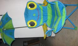 Cute Kids Chair, comes with chair, umbrella that is removable & carring case. CASH ONLY