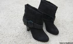 Never worn black Unlisted women's boots size 7.5