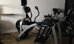 The Cybex 630a Arc Trainer is a professional high-end cross trainer created for the demanding customer. The Cybex arc trainer brings innovation to the art of fitness training. This one machine might be the most demanded cardio machine inside a popular