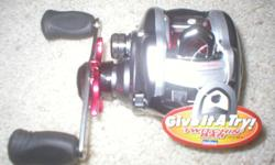 Great Christmas present! Never Used, still in box. Twitchin' 100TSH Baitcasting Reel Twitchin' bar and free floating spool.This is a great deal! In stores twice this price! call 619-449-0314