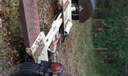 GOOD USED TOW DOLLY. REPLACED THE SURGE BRAKE SYSTEM WITH NEW PARTS, EXCELLENT SYSTEM, ALSO NEW HITCH, 2 new tires, straps and spare tire are included. Contact to see and I of: -- or: --.