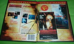 "DOUBLE FEATURE DVD 2 CLASSIC MOVIES TO KEEP FOREVER..... JESUS FRANCO'S ""DEMON"" EROTIC HORROR TORTURE, WITCHCRAFT! MOVIE: DEMON CAST: Anne Libert, Britt Nichols, & Doris Thomas. DIRECTED BY: JESUS FRANCO. MOVIE...A group of nuns become possessed by demons"