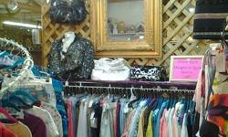 Ladies clothing and accessories at Shady Lane Antique Mall in Terre Haute, Indiana. New, vintage and gently used clothing, jewelry and accessories at affordable prices. Some designer labels include: Coach, Franco Sarto, foxcroft, D&Co, Michael