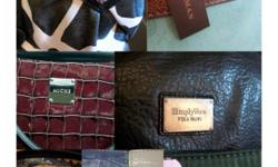 New, vintage and gently used ladies purses. Designer labels include: Coach, Franco Sarto, foxcroft, D&Co, Michael Kors, Prada, Vera Wang, thirtyone, Dooney & Bourke and more - too many to list! Clothing, shoes and accessories also available at Shady