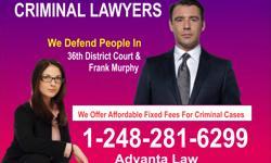 Call us at 248-281-6299 If you need Michigan criminal defense lawyer