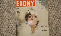 Amazing 1975 Photo Cover Of Ms D From The Movie Mahogany ! Lots Of Pictures/Story Inside + 3rd Annual Black Music Poll w/pics !! Very Good Condition, Slight Tear At Bottom Edge & Mailing Lablel !!! See All My Super Nice/Rare Items For Sale Here & Also At