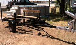 DILLY MAGIC TILT BOAT TRAILER 12 x 4 please text 8063249705 for more info