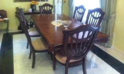 Dinner table, 6 chairs and bar table. Complete Set.Sun Valley (next to Burbank)