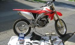 2005 Honda 450X CFR with 450 to 500 miles in excellent condition. The price is firm ( no negotiating) as is, only serious buyers only