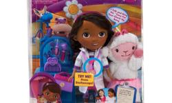 """DISNEY DOC McSTUFFINS TIME FOR YOUR CHECKUP 7 piece SET WITH LAMBIE. Set is new in factory sealed package!  Your stuffed animals and toys have never been more excited to get their check up's. Now your little Doc can """"practice"""" her skills and"""