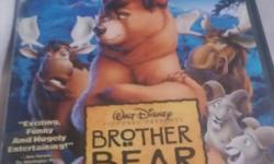 2 dvds leftsee pic 101 dalmatians Brother bear