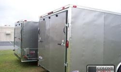 Stock #: CUSTOM ORDER Serial #:ORDER Description: 4000 lb. Heavy duty rear ramp door w/ ramp extension flap & spring assist, 32? side door w/ rv flush lock w/ keys, thermacool ceiling liner, (4)5000 lb. Floor d-ring tie downs bolted to a steel plate