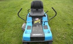 """THIS MOW IS IN GREAT SHAPE AND READY TO MOW, IT IS REALLY GOOD FOR THOSE TIGHT SPOTS. THIS IS THE SPEED ZTR 30"""" WITH LOW HOURS, LOOKS LIKE NEW, AND READY TO GO!"""