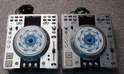 2 Denon Mp3 Cdjs 1 Denon Mixer in their boxes Just like New!