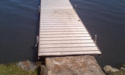 Installing docks and boat lifts. 20-30$ a section and boat lifts 50-100$