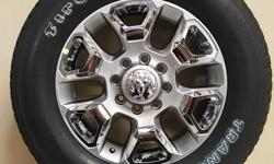 NEW 2500 DODGE RAM WHEELS & FIRESTONE TRANSFORCE A/T LT 285/60/R20 TIRES THAT ARE FLAWLESS!!!  ALSO IN STOCK NEW AND USED WHEEL AND TIRE PULL OFFS FOR CHEVY TRUCKS,CAMARO,CORVETTE,FORD TRUCKS,MUSTANG,DODGE RAM,CHARGER,CHALLENGER,JEEP