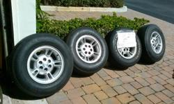 Set of 4 tires in good condition Size/Dimension: P235/75 R15 Please call Ken at 261-294-0993