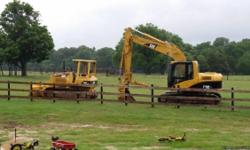 Complete dozer and excavator services... Services include but are not limited too Ponds Lakes House pads Land clearing Under brush removal Dam reconstruction Existing reservoir clean out Excavator has a bush cutting head also available for the hard to