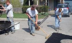 New installation on hot asphalt driveways ,hot patch repairs , seal coating , and stone gravel driveway work.FREE ESTIMATES.(336)-462-4223. I am STAN and I will be more than happy to give you a consultation .