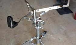 5 pieces for $75 2 snare stands 2 cymbal stands 1 bass drum pedal