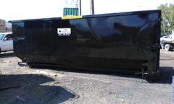 we have new dumpsters for sale in Utah delivered to your place of business any size and any color we have roll offs 40 yard 30 yard and 20 yard and also front load dumpsters 2 yard 3 and 6 yard 8yard .these dumpsters are well-made they're really heavy