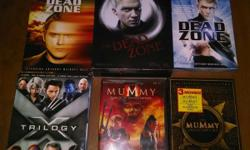 All DVDs in Great Condition. $50.00 for the bundle. Located in Johnson City. Thank you