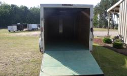 """Stock #: ORDER  Serial #: ORDER  Description: Financing available! Colony cargo?s ai 7x18 tandem enclosed trailer standard features: v-nose front w/ solid front wall construction, 2 x 3 steel tube cross members, 3"""" flat steel backer plate"""