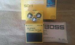 Boss overdrive SD1: $45 Boss distortion DS1: $35 Dunlop CryBaby Wah pedal GCB-95: $50 DEAN MARKLEY Pedal Tuner PT13: $35 ZOOM GFX5 multi effect Pedal: $90   ALL EQUIPMENT WELL TAKEN CARE OF - SEE PICTURES