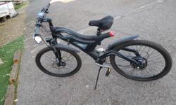 Crane electric bike $1,100.00 Baught bike from the 2014 bike show. Baught 2nd battery and charger with it. Now I have a bill I need to pay so selling for supper cheap prise to get the funds fast. Bryan at 602-515-1134I live in Mesa at 735 s