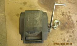 Electric Boat Winch.  $100.00