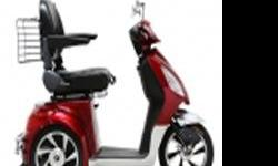 3 wheel electric scooter, street legal, 40 miles per charge , 20 MPH + NO REGISTRATION OR LISCENSE REQUIRED minor body damage taillights dont work BUT RUNS NEW REBUILT MOTOR, NEW COTROLLER BATTERIES 6 MONTHS OLD ! .04 CENTS CHARGE COMPARED TO GAS PRICES