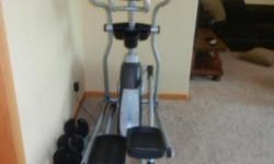 Horizon Eliptical exercise machine. New-like condition.