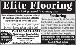 need flooring give me a call 850 251 2698
