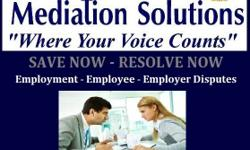 Employment - Employee - Employer Disputes BOOST - MORAL - PERFORMANCE - PRODUCTION - FOCUS - QUALITY Get your matters resolved through mediation at our location or yours. We spend more of our time at work, than at home. We must open the lines of