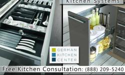 At the German Kitchen Center, our European kitchen cabinets in NYC can be found in our many showrooms, designed and engineered by leading German kitchen manufacturers. Offering award-winning brands such as Nobilia and Leicht, we provide flexible price