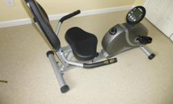Programmable Recumbent Bike. Like new. Separates for easy loading in vehicle. Am unable to continue using. Make an Offer