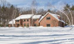 Just Listed! by Ella Reape of Keller Williams Realty ~ (603) 883-3343 ~ Living and Working in Hollis, NH & Beyond!  Truly a Country Retreat! Stunning 4 bedroom, 3.5 bath Custom Brick Colonial located on 6+ Fully Landscaped acres offering