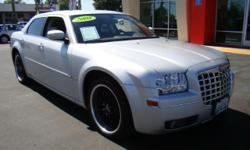 Like our other Chrysler 300, this one is hardly driven (only 26,700 miles!) and is loaded to gills with everything you could imagine! Premium black wheels, power sliding moonroof, leather, power seats, full color navigation screen, power adjustable