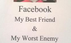"""Look for my new book on Amazon Kindle Publisher """"Facebook My Bestfriend and Worst Enemy"""". Through summary, free verse poetry, and photos I will share with you my journey of standing up to a multi millionaire computer science guru cyber bully and cyber"""