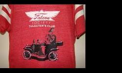 """""""Falcon Society Football T"""" @ BuckheadThread.com:http://shop.buckheadthread.com/Falcon-Society-Football-T-111.htm"""