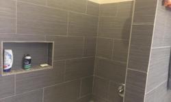 Ceramic,porcalain,travertine,saltillo and laminate Showers and floors. Call 602 625 3601 free estimates Call today