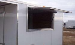 Stock #: Order Serial #: Order Description: Colony's basic porch enclosed trailer is all you need to get started bbq business. Financing available on this trailer option included are: 1. Brace & wire