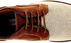 Brand New Men's Steve Madden Sojourn Oxford Camel Suede Canvas/Leather Fashion Shoes US Size 9 Product Description: Brand: Steve Madden Style: Sojourn Oxford The Sojourn oxford features mixed materials in the upper for a two-tone interpretation of the