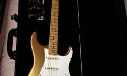60th Anniversary American Standard Stratocaster (FSR) Limited to 2000 Aztec Gold Metallic Custom Shop fat 50s pickups Hard shell case MINT  Fender 65 reissue Twin Reverb All tube, US made classic MINT  TS 808 pro reissue tube screamer Looking